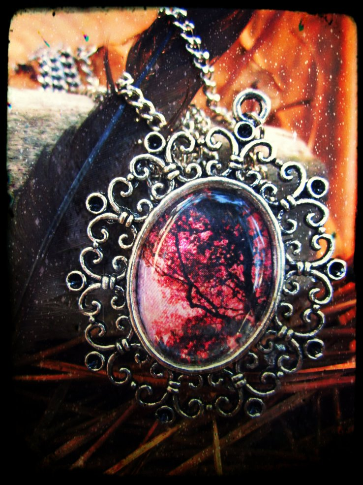 Black Insignia - 5 - Mother Nature - Own - nchanted Forest Pendant