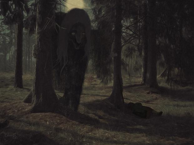 Die Nacht im Walde
