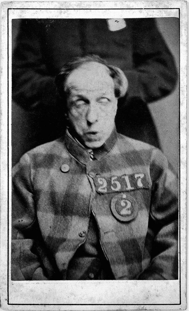 L0019071 West Riding Lunatic Asylum: prisoner; H. Clarke; 1869