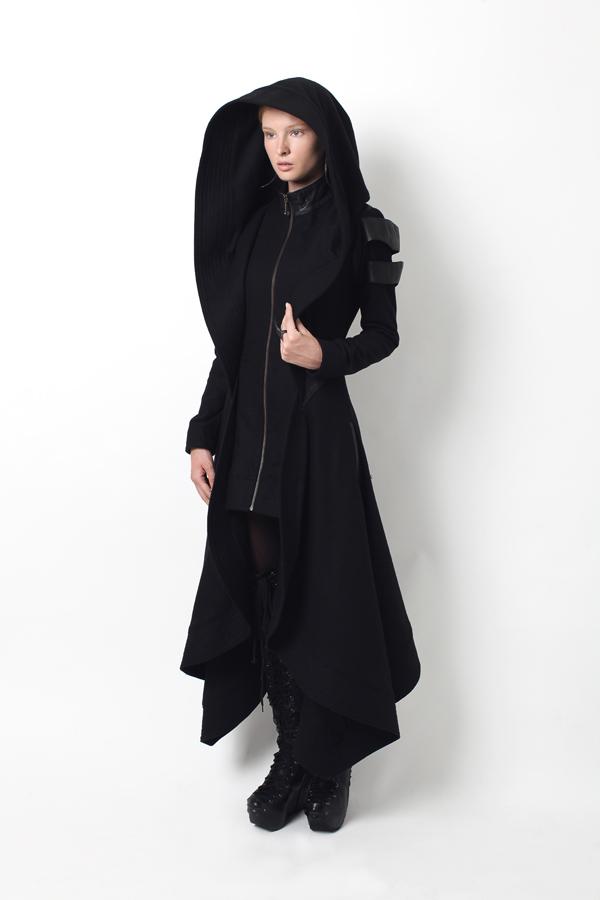 Avant+Long+Coat+Hood
