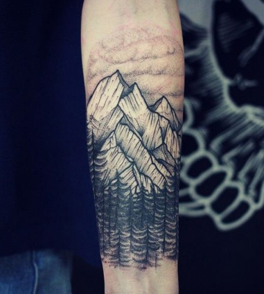 forest-and-mountain-tattoo-38